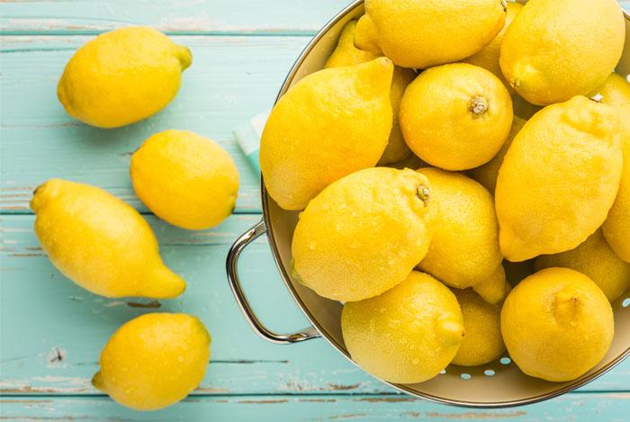 lemons-colander